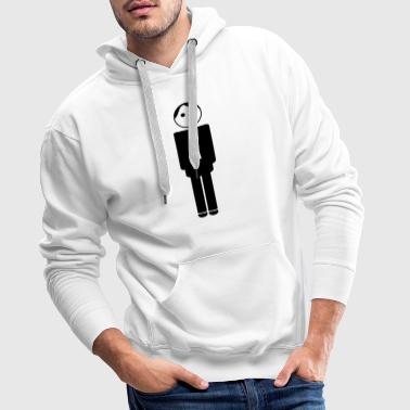 groom / husband to be / bachelor 1c clipart - Sweat-shirt à capuche Premium pour hommes