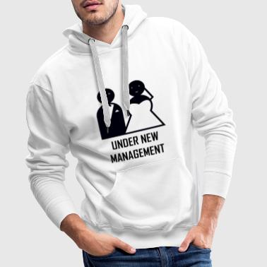 Husband New Husband. Under New Husband - Men's Premium Hoodie