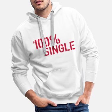 Single Single - Sweat à capuche premium Homme