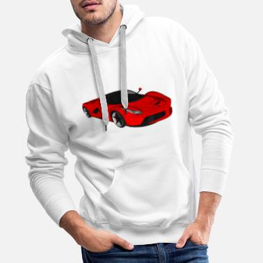 Sports Car Sports car sports car racing car convertible - Men's Premium Hoodie