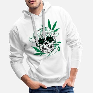 Drogue Big Skull Cana - Sweat-shirt à capuche Premium pour hommes