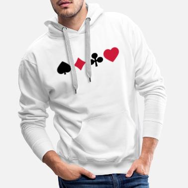 Playing Card playing cards - Men's Premium Hoodie