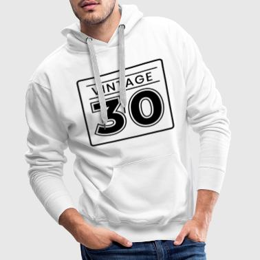 30s 30th birthday - Men's Premium Hoodie