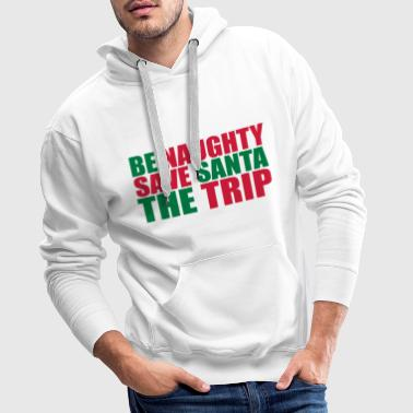 Naughty Be Naughty - Men's Premium Hoodie