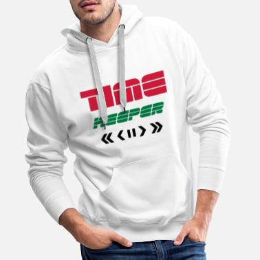 Time Travel TIME KEEPER - TIME TRAVELER REMOTE - TIME TRAVEL - Men's Premium Hoodie