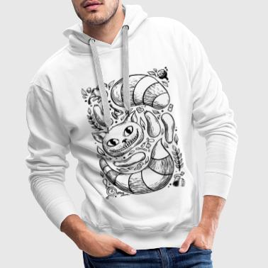 Cat - Composition - Men's Premium Hoodie