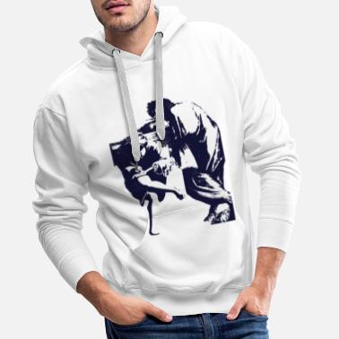 Graphic Art Art Vintage Graphic - Men's Premium Hoodie