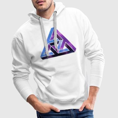 Optical illusion - optical illusion - Men's Premium Hoodie