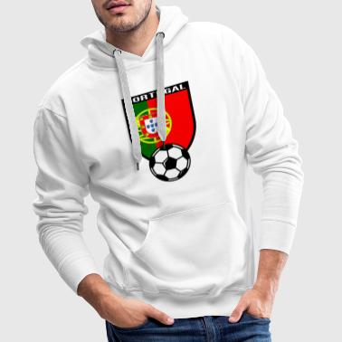 Portugal maillot de fan de foot 2016 - Sweat-shirt à capuche Premium pour hommes
