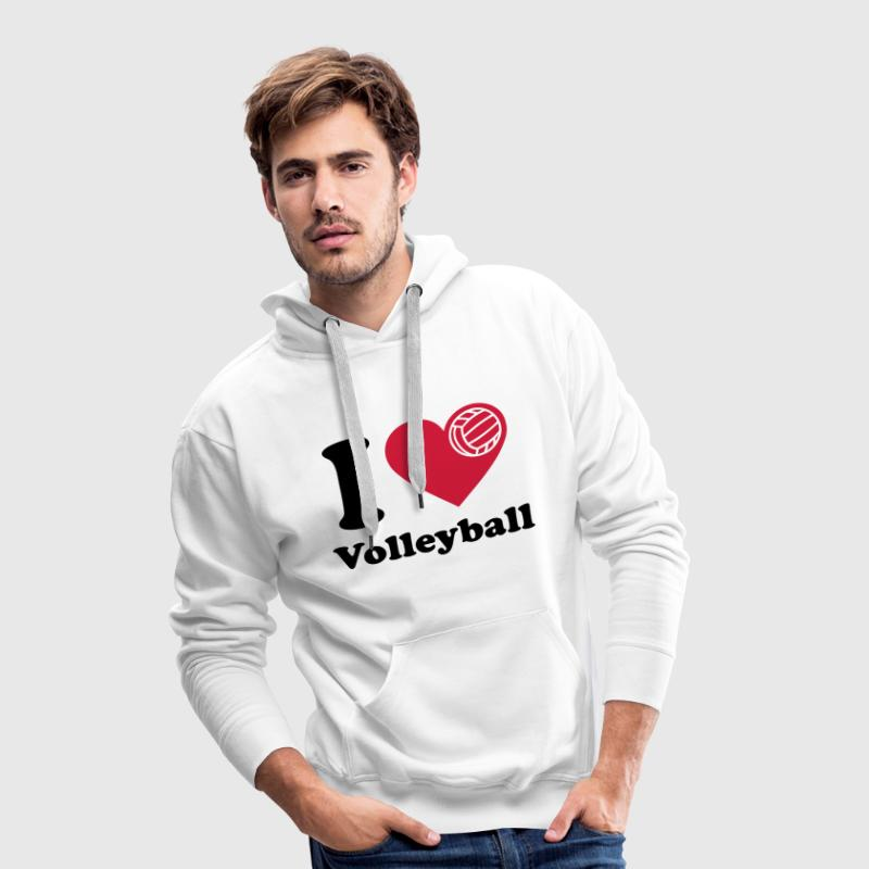 Volleyball  Volley-ball Volley  - Sweat-shirt à capuche Premium pour hommes