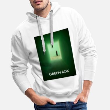 Flash Green Box Flash - Photography - Men's Premium Hoodie