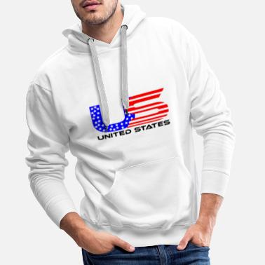 Sight Seeing US america united states usa gift idea - Men's Premium Hoodie
