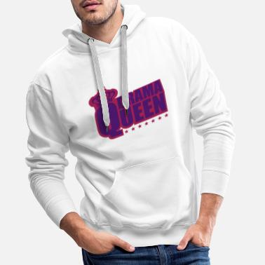 Sexy star woman drama queen princess female crown - Men's Premium Hoodie