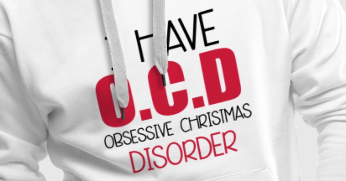 christmas disorder maenner premium hoodie jpg