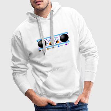 Brownian movement - Men's Premium Hoodie