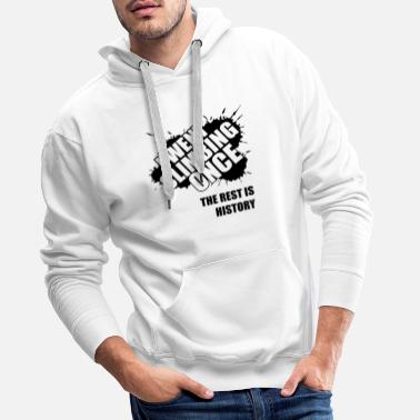 Climb I used to climb - the rest is history - Men's Premium Hoodie