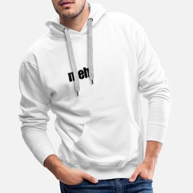 Stomp Meh makes the sheep - Men's Premium Hoodie