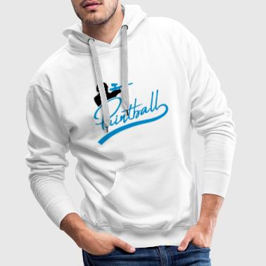 But viser amusement paintball sport club shoot tref - Sweat-shirt à capuche Premium pour hommes