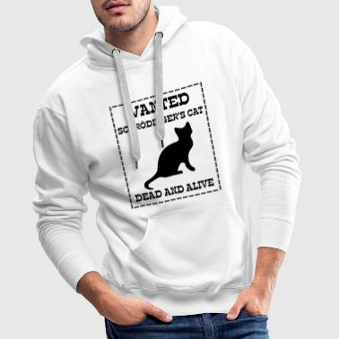 Big Bang Wanted Schrödinger's Cat - Dead And Alive - Männer Premium Hoodie