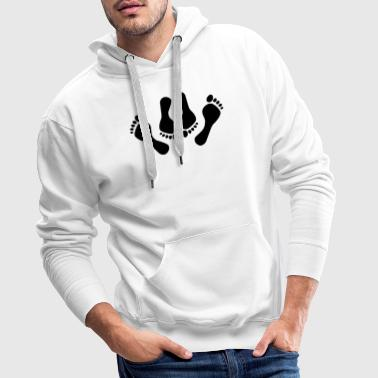 Feet feet sex missionary position sexy 1c - Men's Premium Hoodie