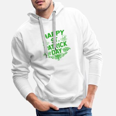Day Happy St Patrick's Day Ireland holiday gift - Men's Premium Hoodie