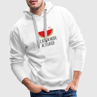 Vacation Mode Activated - Men's Premium Hoodie