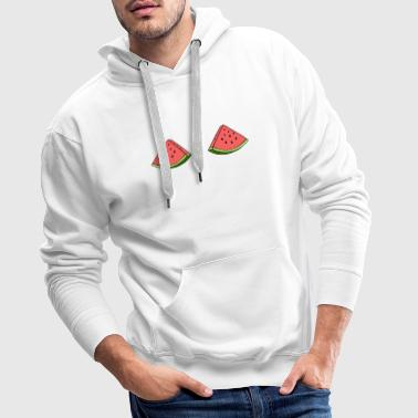 Funny Watermelon Boobs T-Shirt, Fruit Boobs - Men's Premium Hoodie