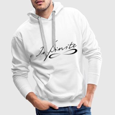 Berlin Funny provocative slogan gift saying -Infinite - Men's Premium Hoodie