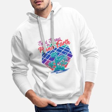 Spende Spend Summer on planet earth! Sommer - Männer Premium Hoodie