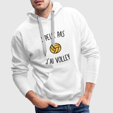 jppj volley  - Sweat-shirt à capuche Premium pour hommes