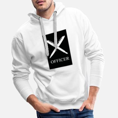 Office OFFICER - Men's Premium Hoodie