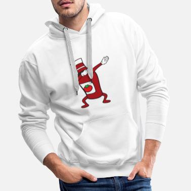 Party Dabbing Dab Ketchup - Mannen Premium hoodie