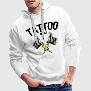tattoo machine colors - Sweat-shirt à capuche Premium pour hommes