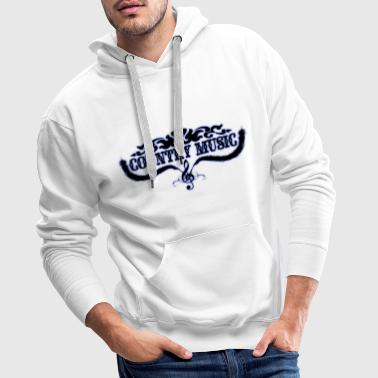 Country Music country music - Men's Premium Hoodie