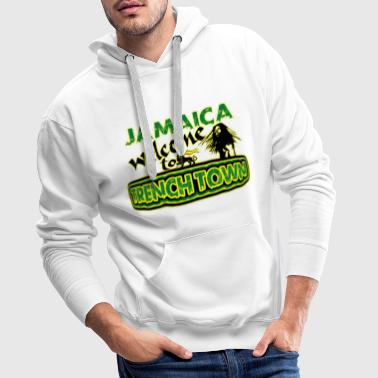 jamaica welcome to trench town - Männer Premium Hoodie