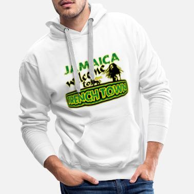 jamaica welcome to trench town - Mannen premium hoodie