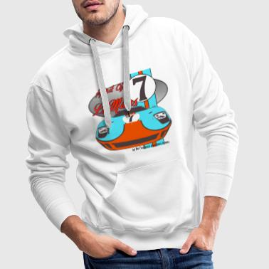 Spirit of Le Mans - Sweat-shirt à capuche Premium pour hommes