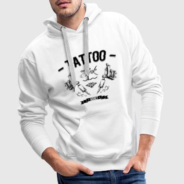 tattoo addict 4 - Sweat-shirt à capuche Premium pour hommes