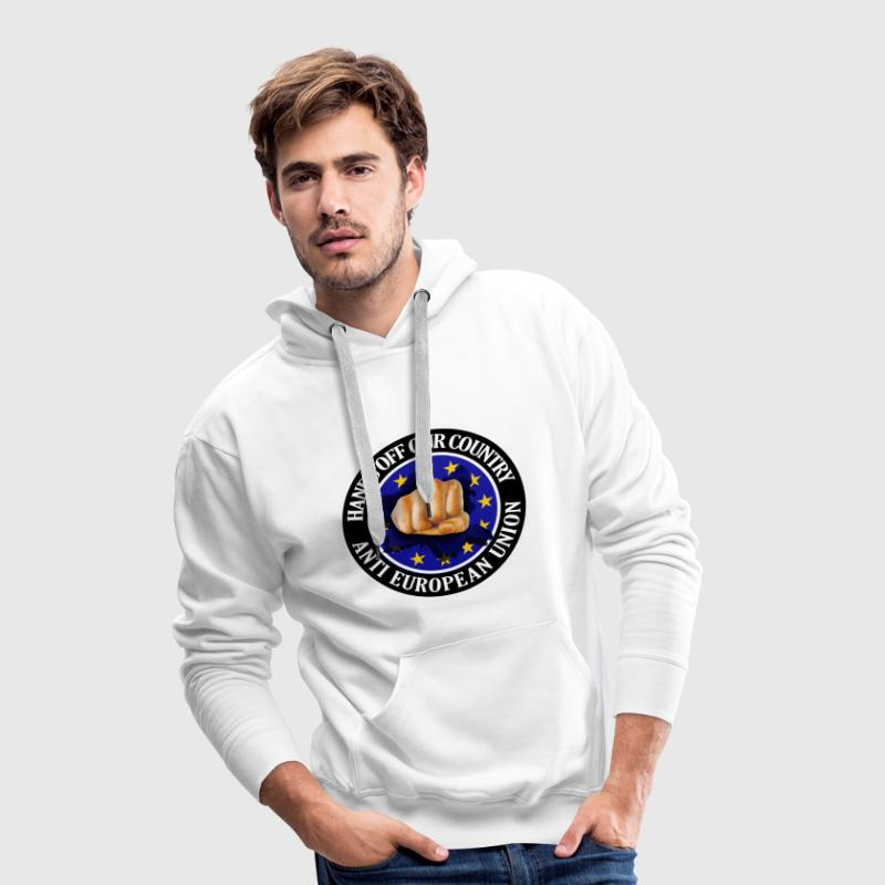 Anti EU - Fist - Men's Premium Hoodie