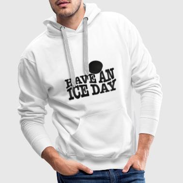 Cool Hockey Eishockey T-Shirt - Männer Premium Hoodie