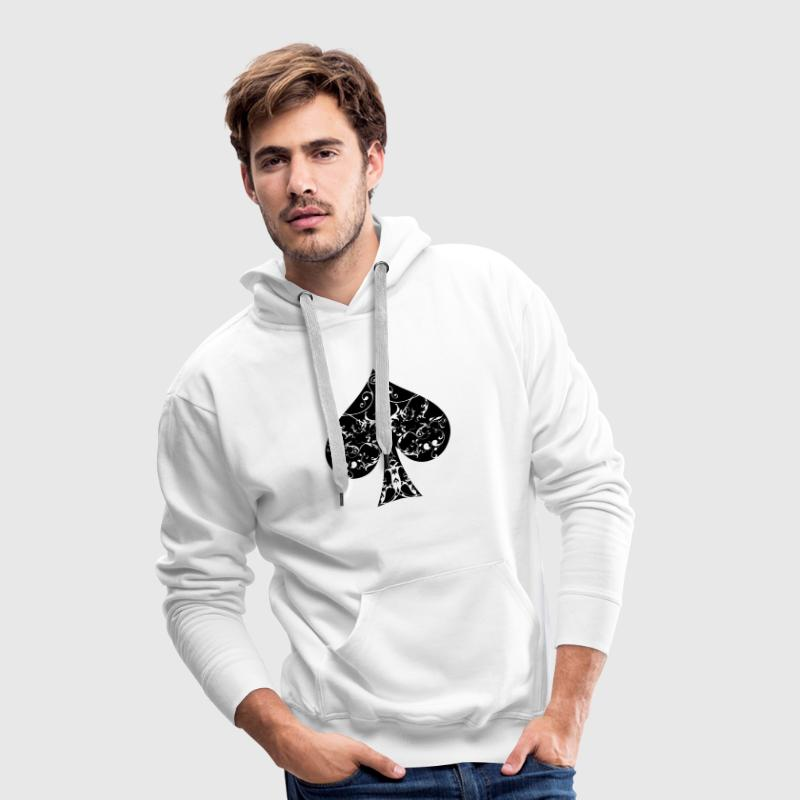 Pik Tribal Poker Ass Hold´em  - Männer Premium Hoodie