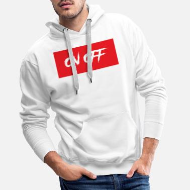 Off on off - Sweat à capuche premium Homme