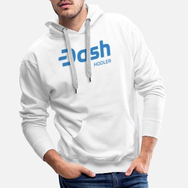 Cash Dash Digital Cash - Crypto Hodler #DASH - Sweat à capuche premium Homme