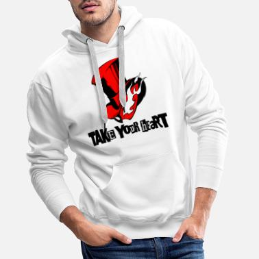Take take your heart - Men's Premium Hoodie