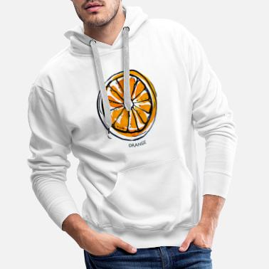 Fruit Orange Fruit Fruit Fruit - Men's Premium Hoodie