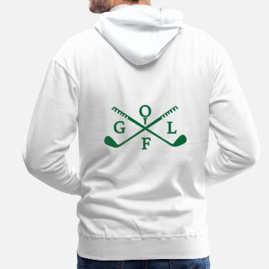 Golf Instrution Golf club - Men's Premium Hoodie