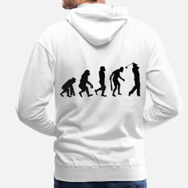 Golf Instrution Evolution golf - Men's Premium Hoodie