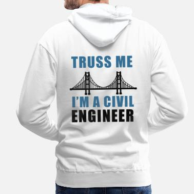 Civilization Civil - Men's Premium Hoodie