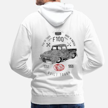 Vintage Collection F100 Built Tough, Vintage - Felpa con cappuccio premium uomo