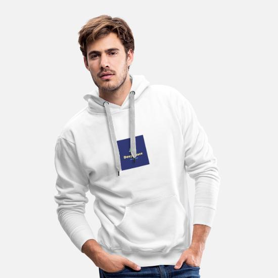 Space Ship Hoodies & Sweatshirts - Deep Space - Exoplanet - Men's Premium Hoodie white